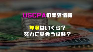 USCPA 年収はいくら? 実際に努力に見合うのか。